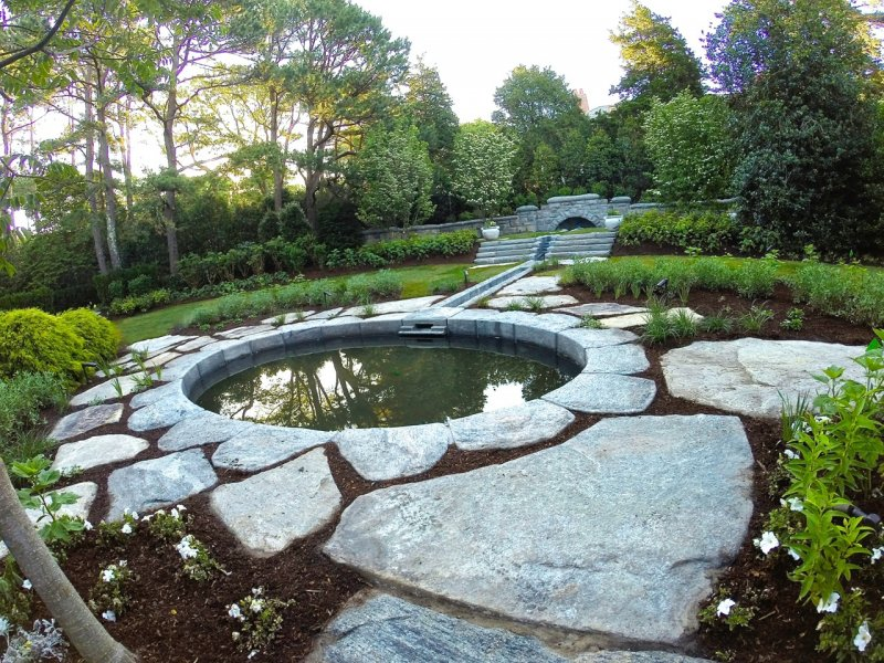 Pond water features designs