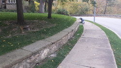 retaining wall construction lawrence