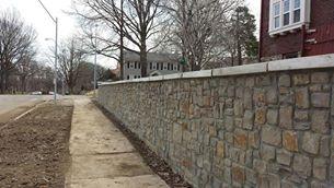 retaining walls around trees olathe