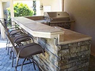 Outdoor Kitchen and bbq grill Overland Park Kansas