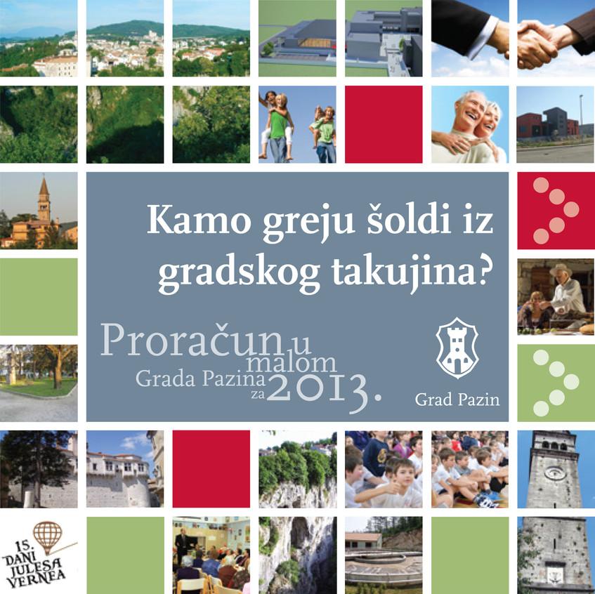 Proracun u malom Pazin 2013-1