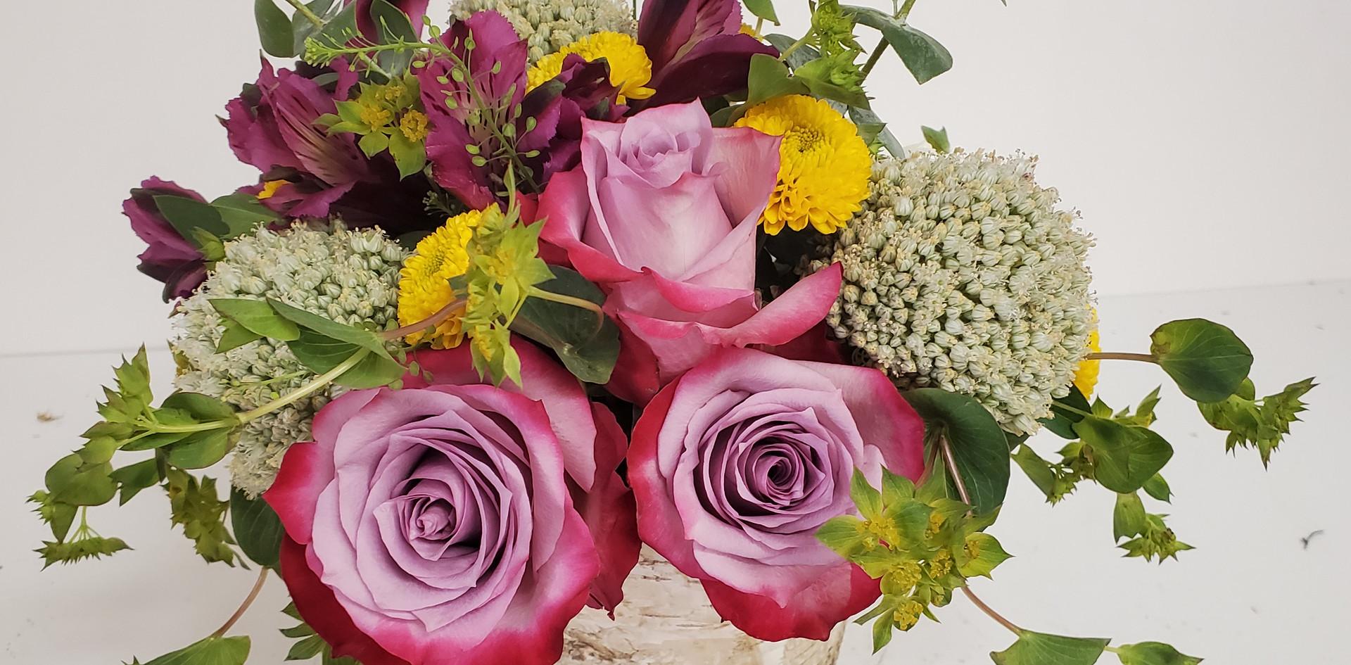 Fancy Pansy Bouquet