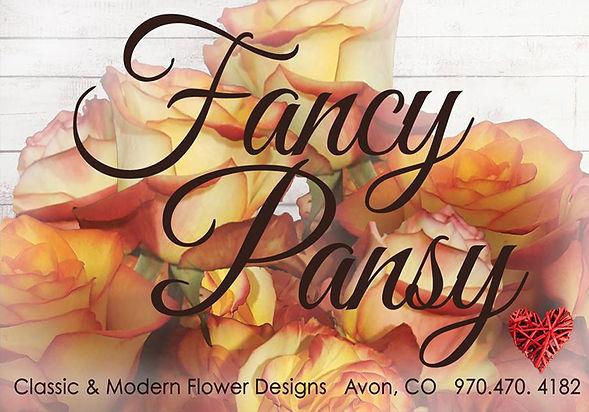 Fancy Pansy Floral Design