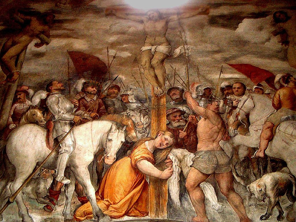 Girolamo Romanino, Crocifissione, Pisogne