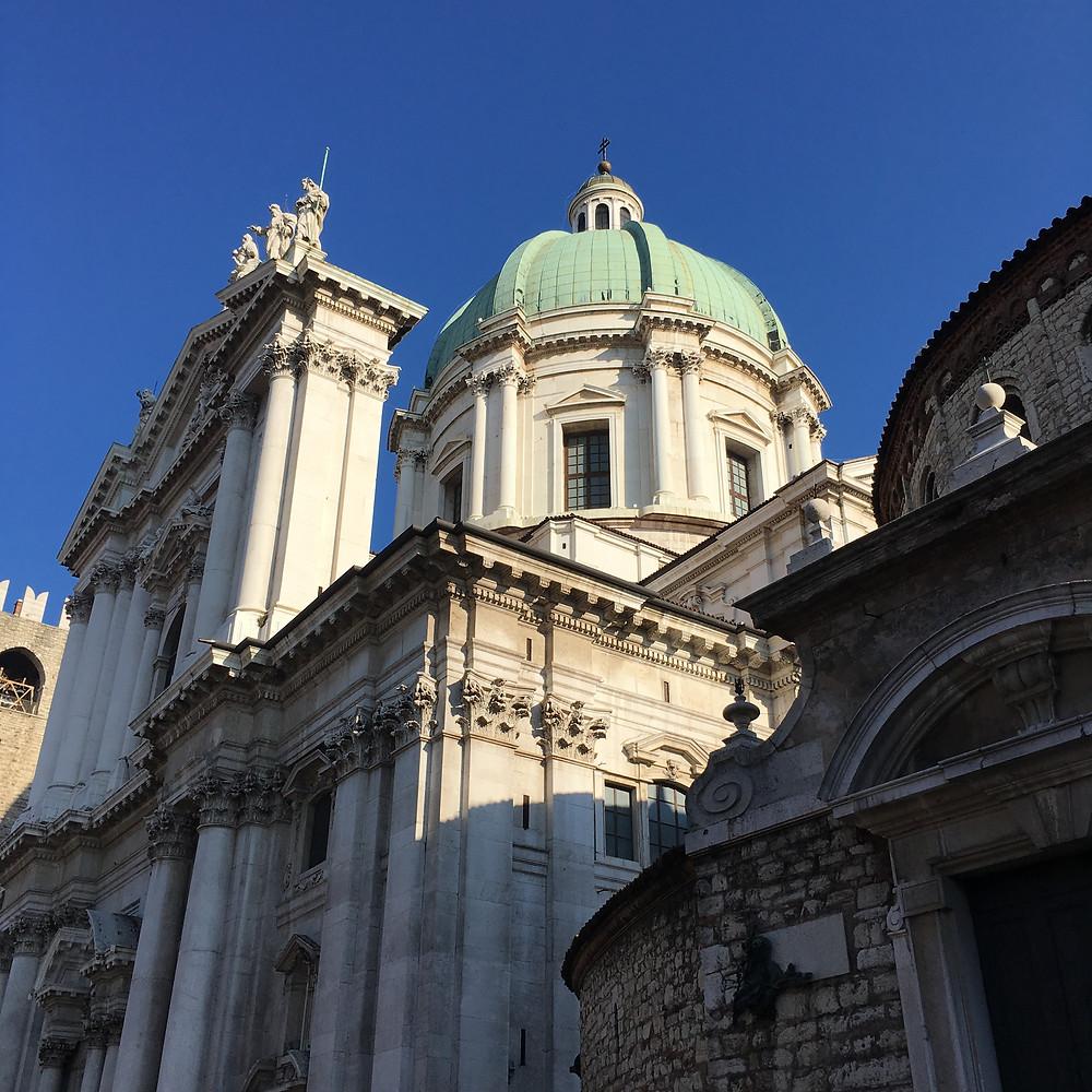 Brescia, cupola del Duomo Nuovo