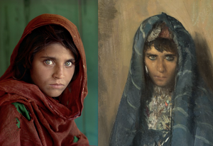 L'Ebrea di Garian, Giorgio Oprandi - Steve McCurry
