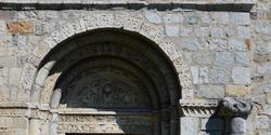 Pieve di San Siro, portale