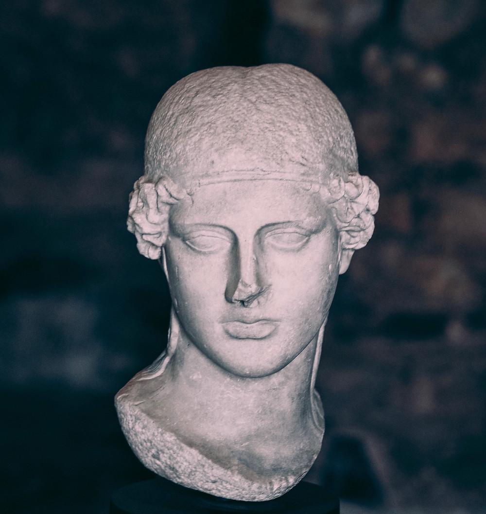 Brescia, Capitolium - testa di Minerva