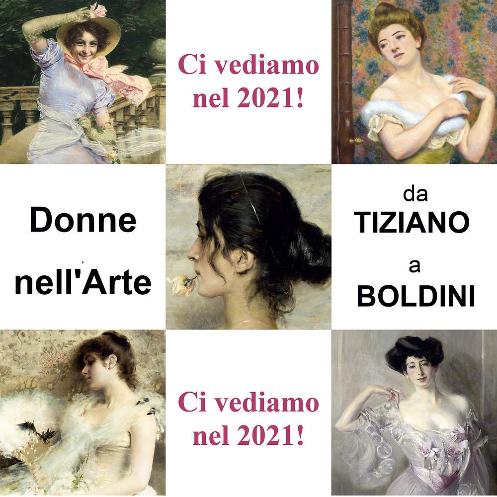 """Brescia, mostra """"Donne nell'arte - Da Tiziano a Boldini"""""""