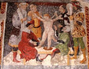 Cerveno, Il martirio di Simonino da Trento