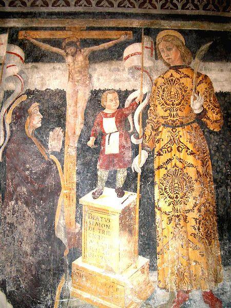BIENNO - Simonino tra i Santi Faustino e Giovita, Antonio di Padova e Rocco