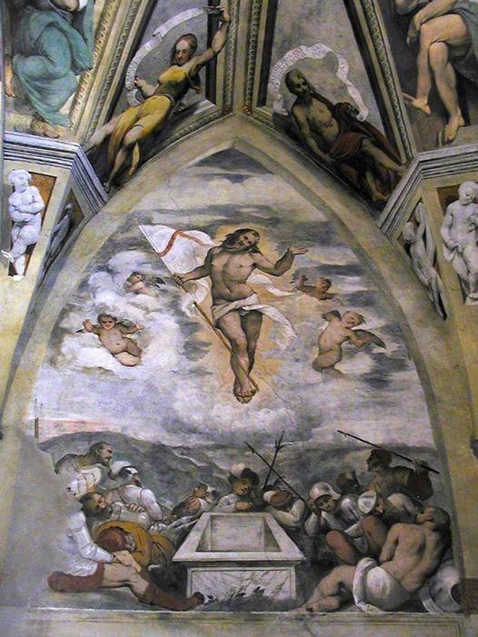 Girolamo Romanino, Resurrezione - Pisogne