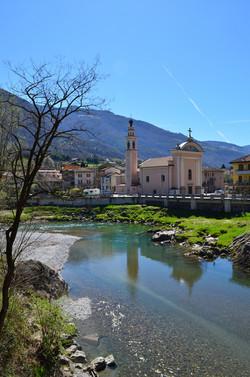 Montecchio di Darfo, fiume Oglio