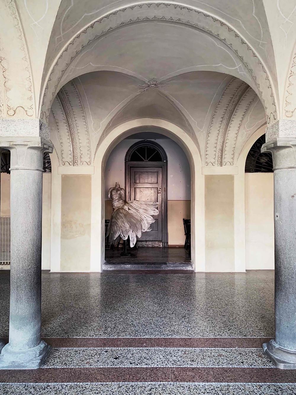 Bienno, Palazzo Simoni Fè D'Ostiani - ingresso