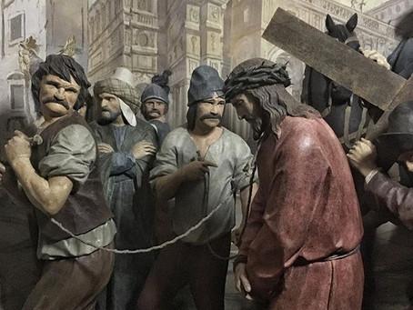Beniamino Simoni, Via Crucis e Compianto