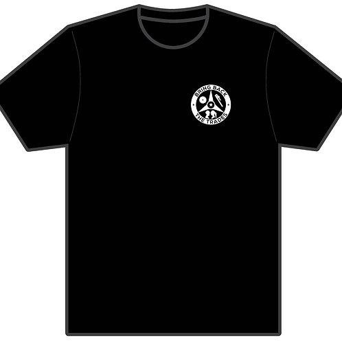 Bring Back the Trades Tri-logo Black  T-Shirt