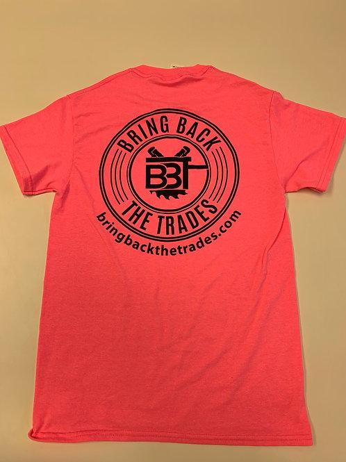 Pink ALT Logo Tee Shirt