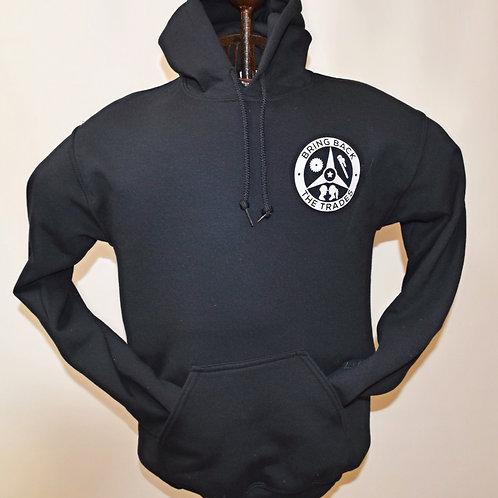 Bring Back the Trades Tri-logo Black Hoodie