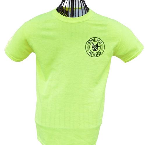 Safety Yellow ALT Logo Tee Shirt