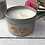 Thumbnail: Personalised scented tin soya candle