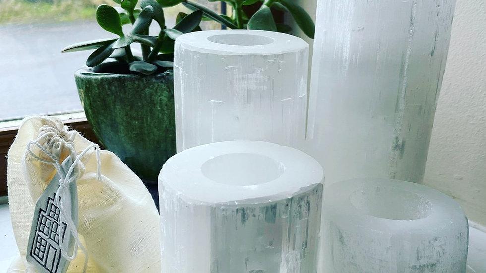 Large selenite crystal