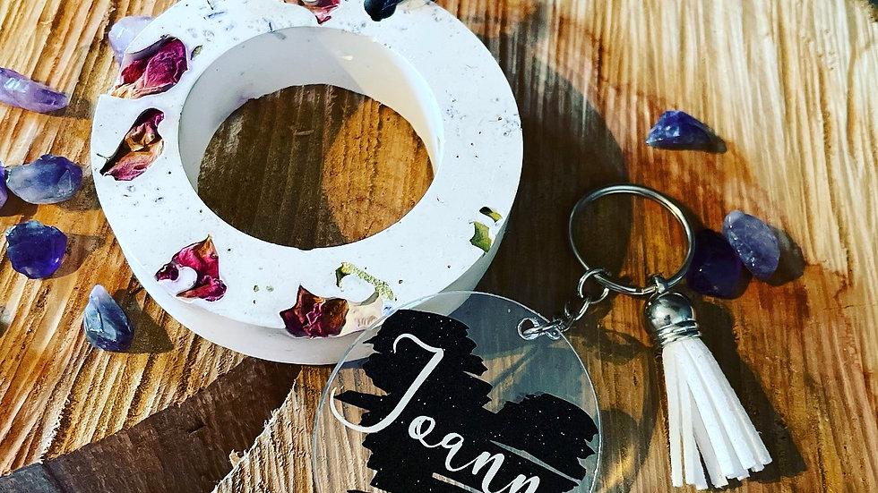 Car gift set (key ring and airfreshner)