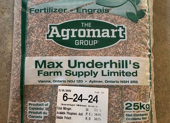 6-24-24 Lawn and Garden Fertilizer (25 KG)