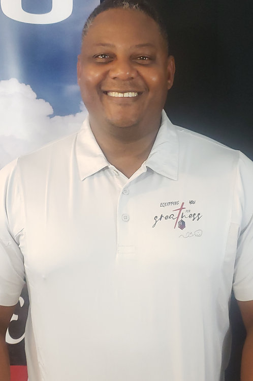 Equipping You For Greatness Golf Polo