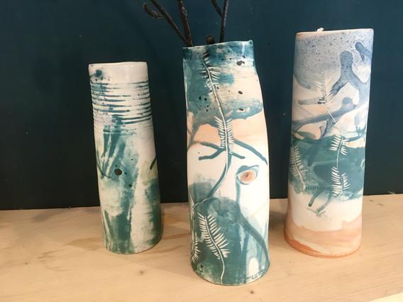 "Vase en porcelaine ""Botanique"""