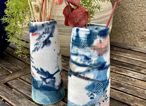 Grand vase «cinétique»