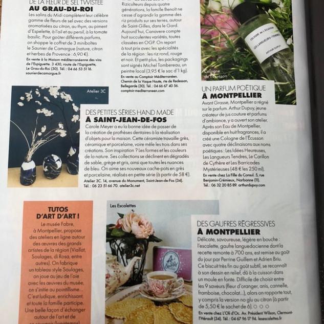 "article ""Elle"" Magazine"