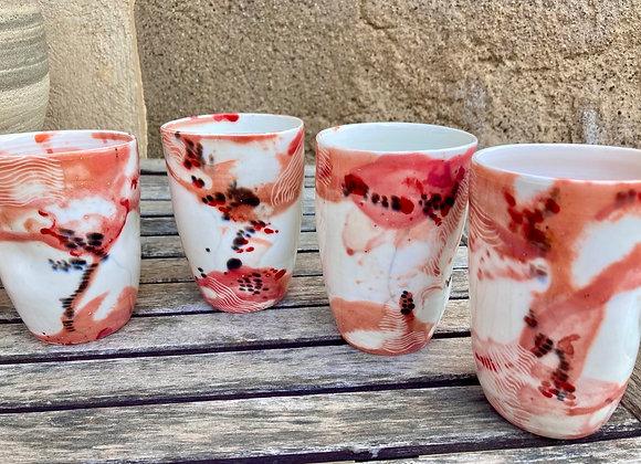 Mug «cinétique terracotta «