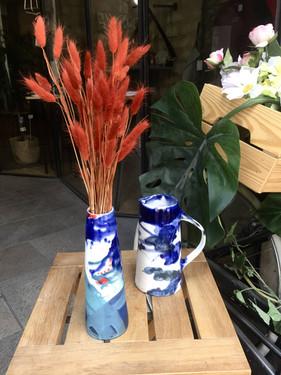 "vase et carafe Collection "" Klin"""