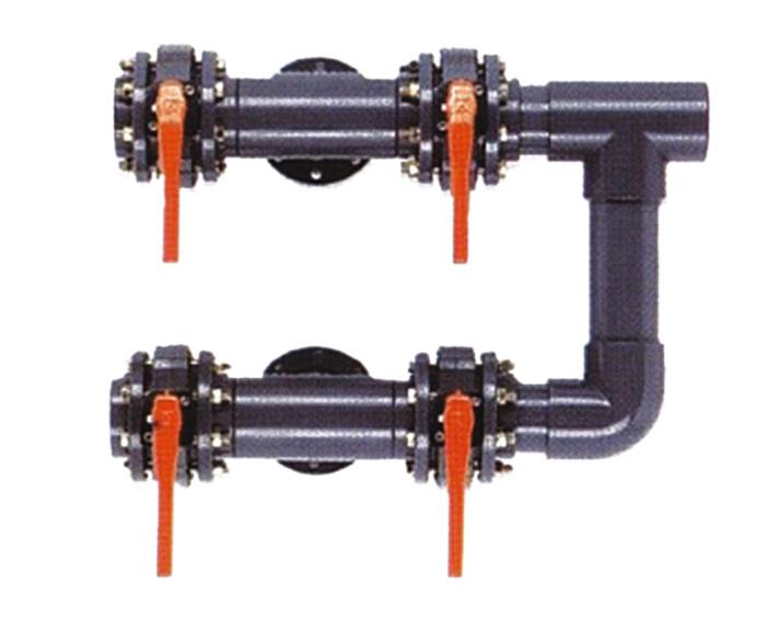 Battery of 4 valves