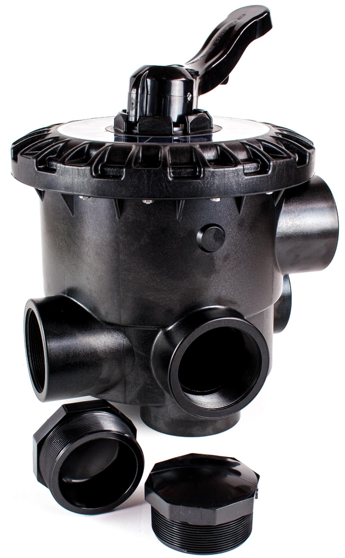 """Side selector valve 3"""" - Black"""