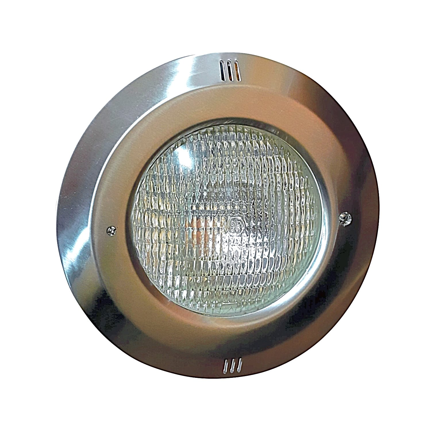 Light with Stainless Steel Rim