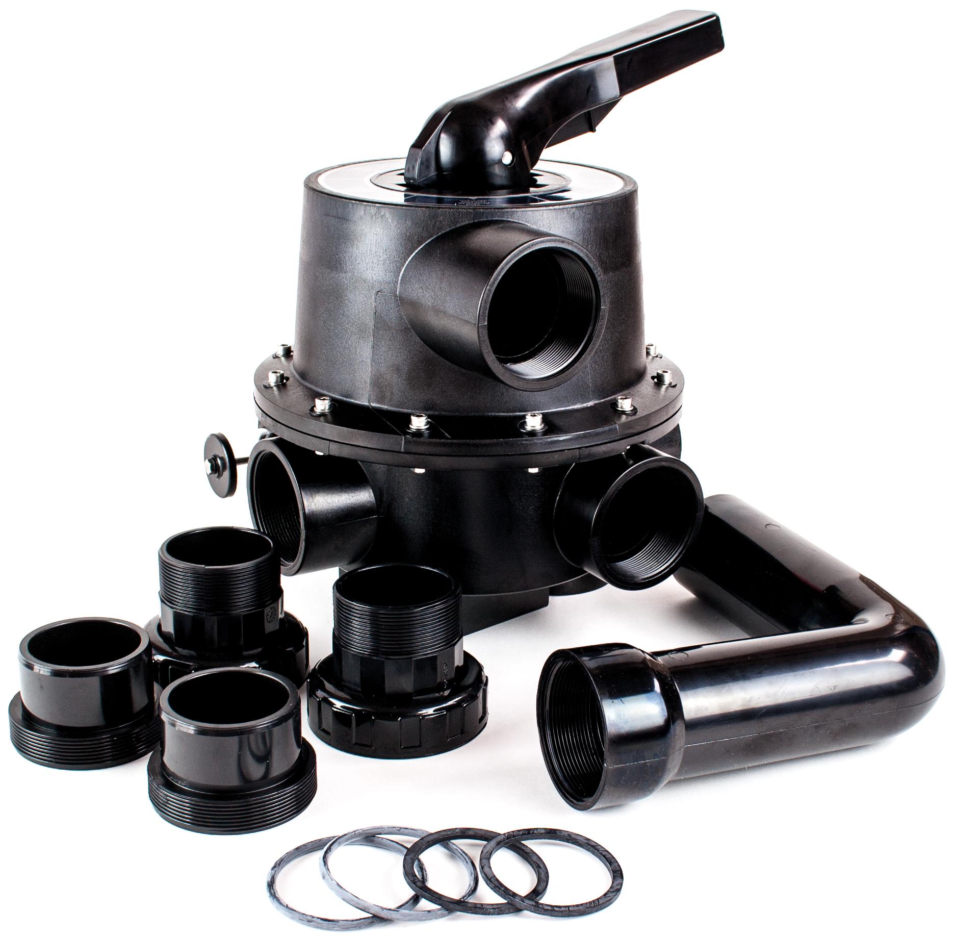 """Side selector valve 2,5""""- Black"""