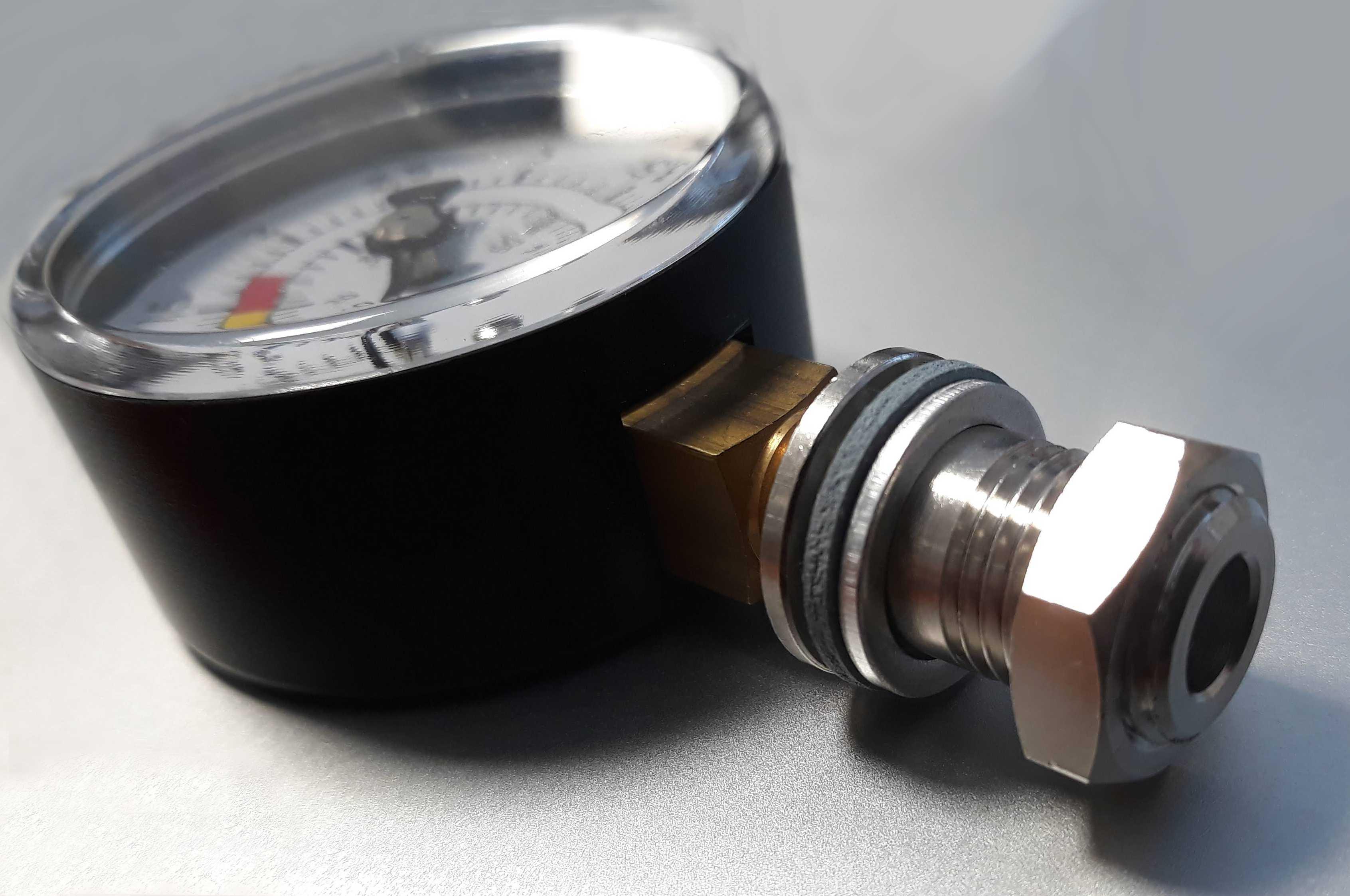 SS316 manometer set