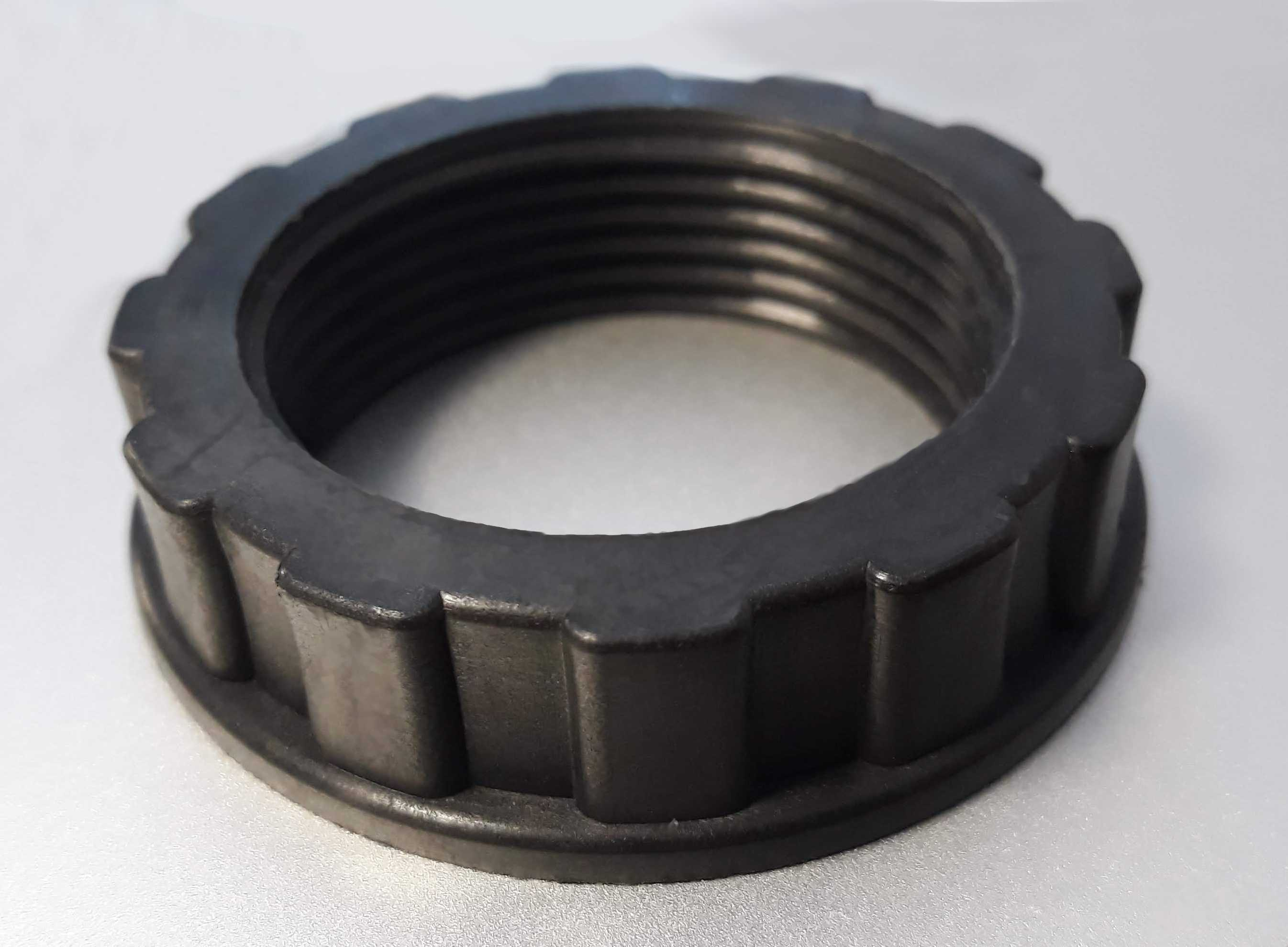 Reinforced plastic components
