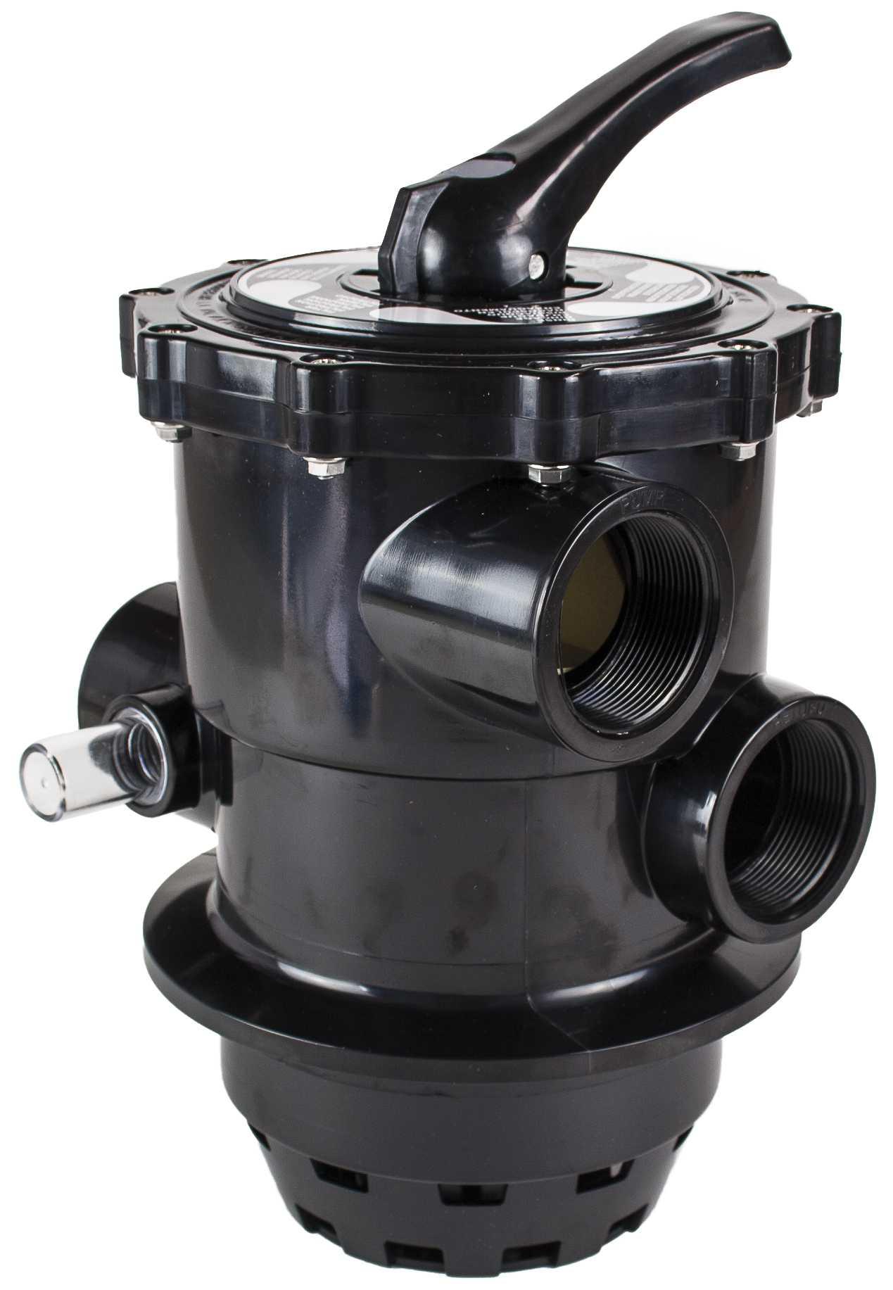 "Top selector valve 2""- Black"