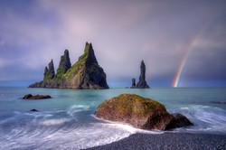 Reynisfjara Rainbow
