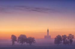 the fog of the creek Schussen
