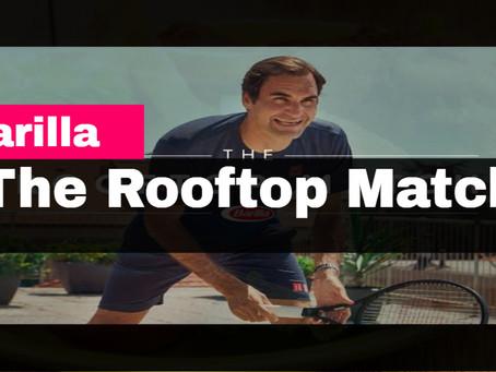 Leave it Roger Federer to make a great video even Betterer. #rogerfederer