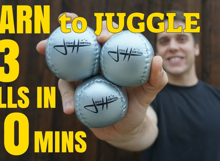 Learn to Juggle learn to Toss