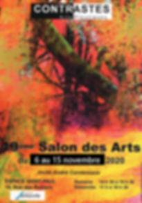 Affichette_19ème_Salon_des_Arts_de_Cont