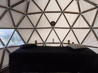 dome geodesique leucate