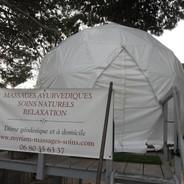 dome geodedique leucate massage