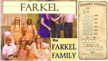 How I Designed a Farkel Dice Game