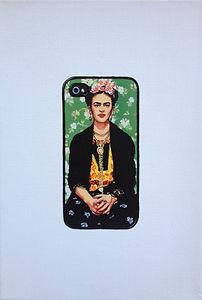 Kate Arthur - Hashtag Frida #1, oil on canvas