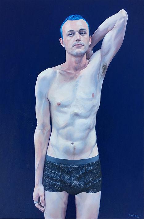 Kyle, oil on canvas